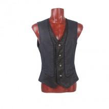 Gothic coated vest