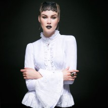 Long Sleeves Gothic Blouse