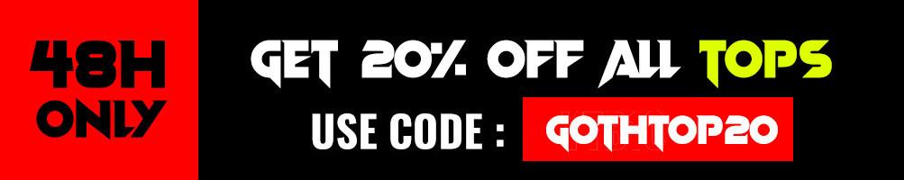 Punk Rave Top per le donne, Visual kei Maglietta, Gothic Lolita Camicia, Punk  Camicetta e  Gothic  Maglione